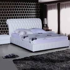 orion white queen leather bed auction graysonline australia