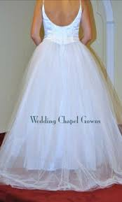 mcclintock wedding dresses mcclintock 123 gown tulle skirt spaghetti straps