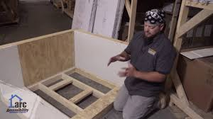 Ez Shower Pan by Arc Truedek Shower Pan From Contractors Direct Youtube
