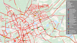 How To Plan A Route On Google Maps by Melbourne Map Of Key Cycling Transport Routes Infrastructure And
