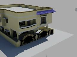 3d model duplex design cgtrader