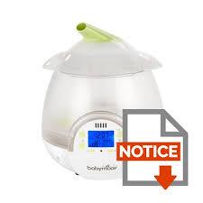 humidificateur chambre enfant babymoov humidificateur digital blanc vert achat vente