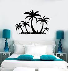 wall sticker vinyl decal tropical palm tree beach relax decor wall sticker vinyl decal tropical palm tree beach relax decor ig1769