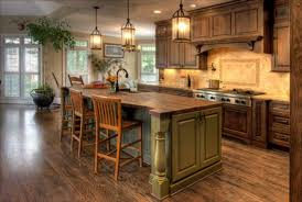 kitchen modern style country kitchen decor brown wood wall