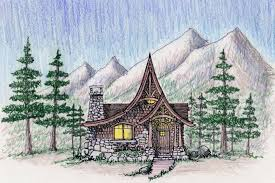 Small Mountain Home Plans - baby nursery mountain cabin plans square feet house plans by max