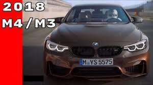 Bmw M3 Sedan - 2018 bmw m4 coupe convertible and bmw m3 sedan youtube