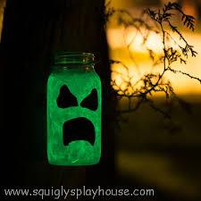 Halloween Glow In The Dark Decorations by Halloween Craft Glow In The Dark Ghosts