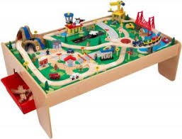 step 2 plastic train table best wooden train table set for kids