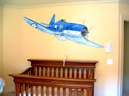 Vintage Airplane Nursery Decor Bedroom Endearing Airplane Toddler Bed Kidkraft Bedding Masterkd
