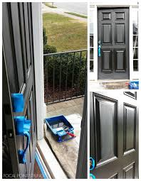 focal point styling painting interior doors black updating also