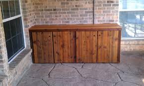 outdoor deck storage cabinets home design ideas patio storage