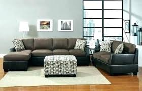 Suede Sectional Sofas Leather And Suede Sectional Green Sectional Sofa And Green Leather