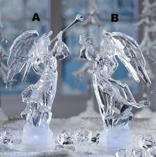 icy craft med angel ice sculptures