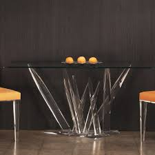 Rectangular Glass Top Dining Tables Furniture Astonishing Design Of Table Bases For Glass Tops As