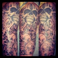 this is your way to find sleeve ideas skull sleeve
