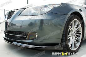 painted to match 08 10 bmw e60 lci base model h type front lip