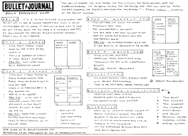 free bullet journal reference guide bullet printing and journaling