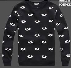 fashion kenzo1 printing sweater show thicken