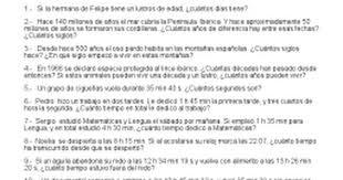 problemas razonados para cuarto grado unidades de tiempo problemas ii docx google docs