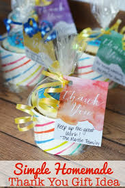Wedding Thank You Gift Ideas Simple Homemade Thank You Gift Idea Free Printable This Mama Loves