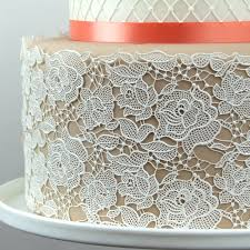 Chef Mat Rose Damask Silicone Lace Mat By Chef Alan Tetreault Silicone Lace