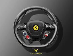 ferrari steering wheel vilner ergonomic and sport steering wheels ferrari