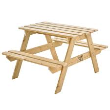 childrens wooden picnic table benches tp wooden picnic bench garden fun outdoor play childrens play