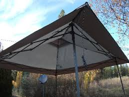 Instant Shade Awning Coleman 13 U0027 X 13 U0027 Straight Leg Back Home Instant Shelter 169 Sq
