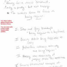 response essay outline how to write a process or how to essay