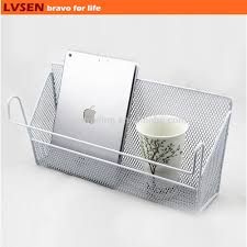 double decker bunk bed metal mesh hanging storage basket buy