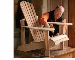 How To Build An Armchair Making Adirondack Chairs Hats Off America