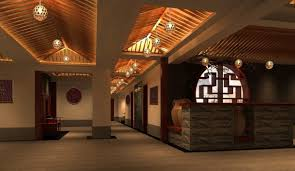 chinese interior design china village restaurant interior design color selection becomes