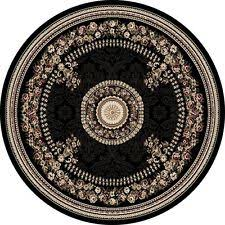 Round Persian Rug Traditional Persian Oriental Round Area Rugs Ebay