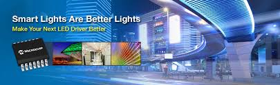 led technology intelligent lighting microchip