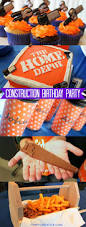 decoration ideas for birthday at home home depot construction birthday party