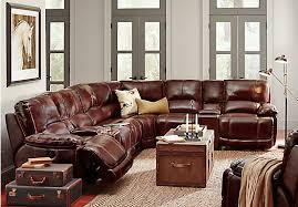 cindy crawford recliner sofa picture of cindy crawford home van buren burgundy 8 pc leather