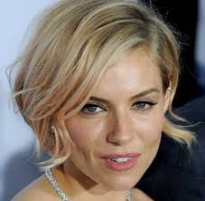 how to style a wob hairstyle sienna miller wob square version of the short hairstyles latest