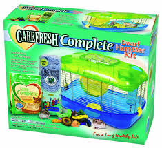 How Much Is A Hamster Cage Amazon Com Ware Manufacturing Critter Universe Carefresh Dwarf