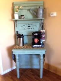 Coffee Nook Ideas Coffee Hutch By Kelly Knips Coffee Tea Food And Drink Bars