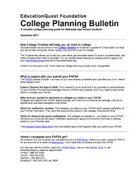 stapleton public schools college planning bulletin december