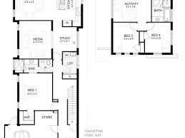 Modern Bungalow House Plans Narrow Lot Modern Bungalow House Plans Latavia