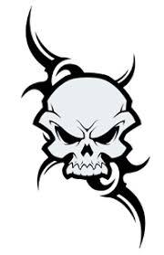 tribal skull tattooforaweek temporary tattoos largest temporary