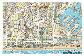 venice map venice map print tom maps