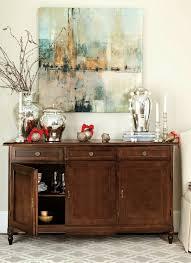 How To Decorate A Dining Room Buffet Sideboard Decor