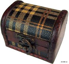 Scotch Plaid Scotch Plaid Colonial Box Medium