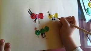 kids learning art kids art water color painting ants art