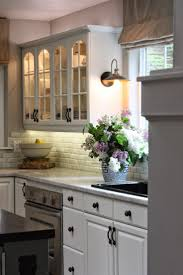 Built In Kitchen Islands Cabinets U0026 Drawer Farmhouse White Porcelain Tile In Kitchen Sink