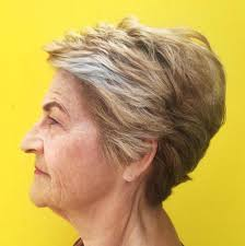 feathered brush back hair the best hairstyles and haircuts for women over 70