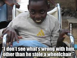 Wheelchair Meme - he stole a wheelchair humoar com