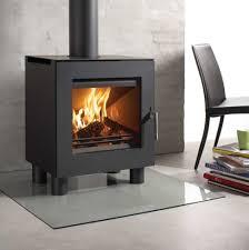 modern wood burning fireplace outdoor post lights lighted medicine